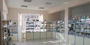 Аптечная мебель с аптечными холодильниками