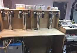 Барная стойка пивная и барный стол