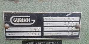 Станок строгальный четырехсторонний Gubisch 142