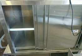 Полка-шкаф настенная закрытая бу
