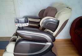Массажное кресло ес-386 (беж.) на гарантии