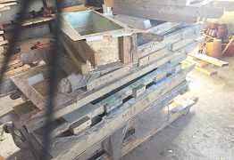Формы для производства плитки и малых архитектурны
