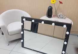 Визажное (гримерное) зеркало с подсветкой