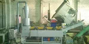 Флотационная мойка полимеров