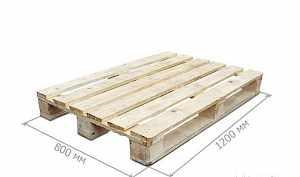 Поддоны новые деревянные 2 сорт от производителя