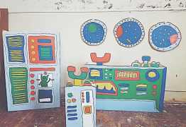 Декорации из картона для детей