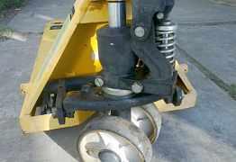 Тележка гидравлическая рохля powerlifter 2500
