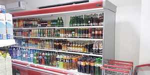 Холодильная горка 2шт. длина по 4.80см. высота.2м