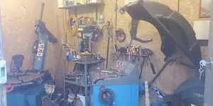 Шиномонтажная мастерская в контейнере