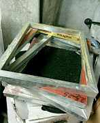 Карусельный станок для шелкографии