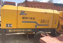 Стационарный бетононасос Haizhou HBT40-7-60.5S