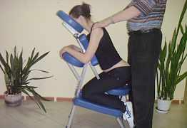 Стул для массажа шейно-воротниковой зоны