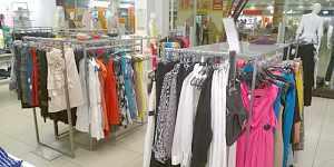 Комплект оборудования для салона одежды