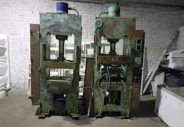 Оборудование для производства полимерпесчанной пли