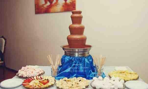 Шоколадный фонтан sephra Cortez