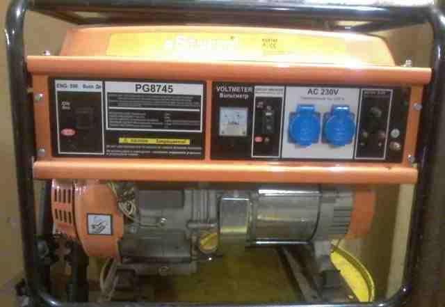 Электро станция бензиновая 4.5квт