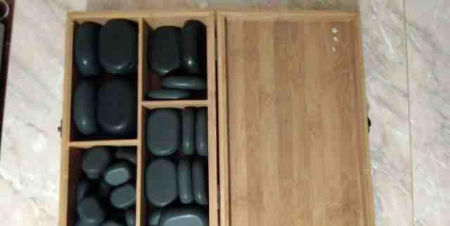 Камнями для массажа 30 шт новые
