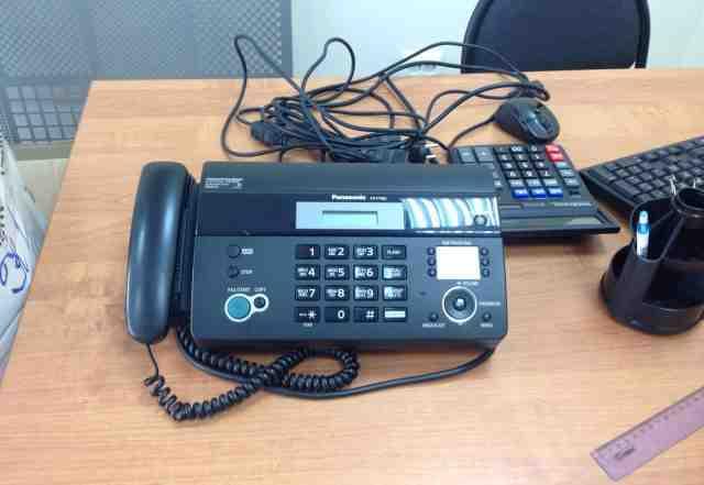 Panasonic телефон и факс kx-ft982