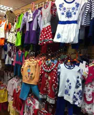 торговый остаток- детскую одежду