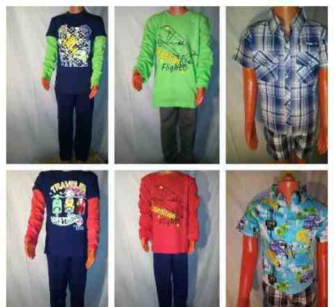 Товарный запас детской одежды
