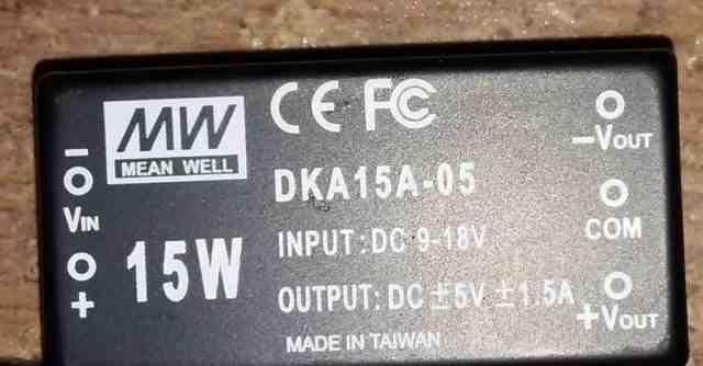 Dc/dc преобразователь SKA15A-05 и DKA15A-05