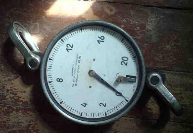 Дпу-20 динамометр весы 2 тонны