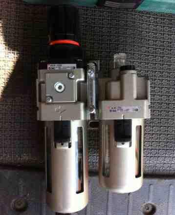 Фильтр-регулятор, маслораспылитель с конденсатоот