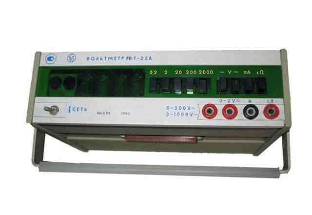 Вольтметр универсальный цифровой В7-22А