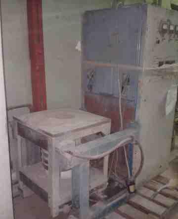 Печь индукционная плавильная