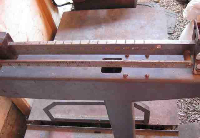 Весы механические напольные Г/П 1000 кг