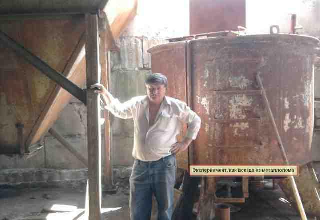 Изготовим станок для наполнения грибных мешков