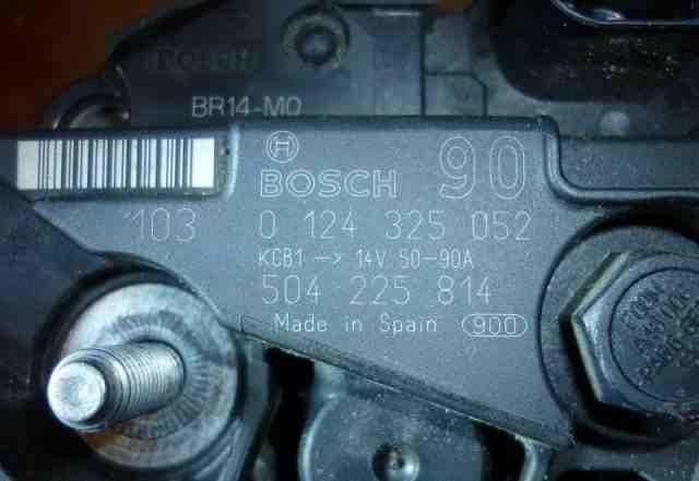 Генераторы Bosch Б/У