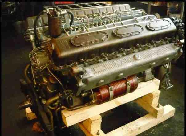 Двигатель 1Д12-400 с капитального ремонта