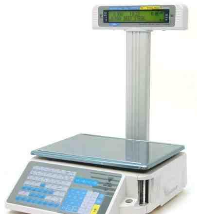 Весы электронные с печатью digi SM-300