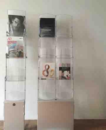 Стенд-стойка ZIP stair складная для рекламной прод