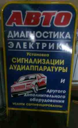 Выносной двусторонний рекламный щит