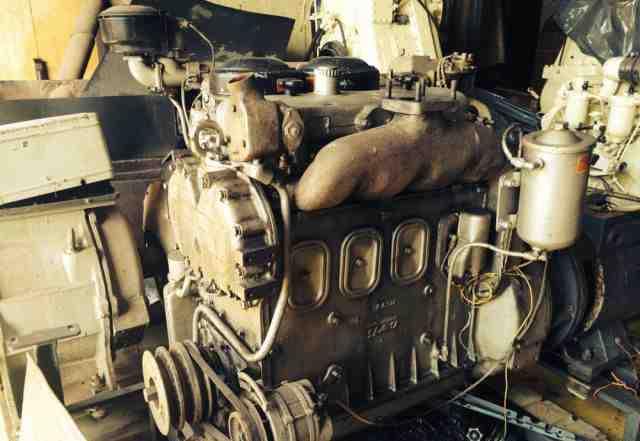 Дизель-генератор на базе двигателя яаз-204