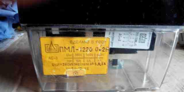 Пмл-1220 0 2б электромагнитный пускатель
