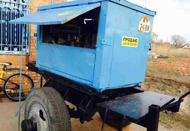 Передвижной дизельный сварочный агрегат саг