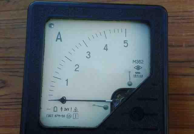 Амперметр М362 0-5А