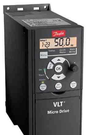 Преобразователь частоты Danfoss VLT Micro 5.5кВт