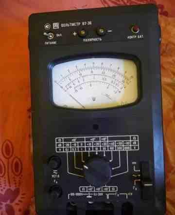 Вольтметр с хранения В7-36
