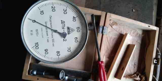 Механический динамометр дпу-01