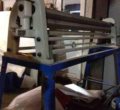 Станок для изготовления труб и желобов сливной сис