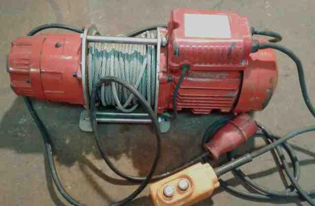 Лебедка электрическая 220в