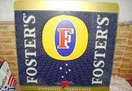 Рекламный светильник пива fosters
