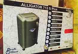 Новый уничтожитель бумаг Alligator 713 S Plus