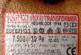 Неоновый трансформатор neon transformer