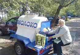 Автоприцеп-цистерна для молока на 450 л