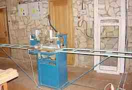 Станок фрезерный для изготовления пластиковых окон